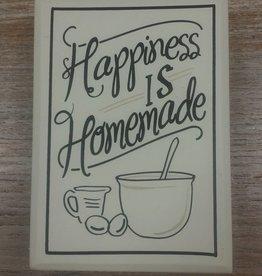 Decor HAPPINESS IS HOMEMADE DESK BLOCK
