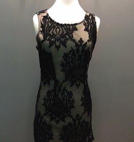 Dress Black Slvless Woven Dress
