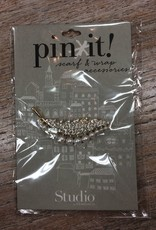 Accessory Gold Feather Pin