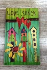 Decor Love Shack Wood Sign