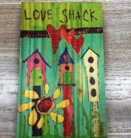 Decor Love Shack Wood Sign