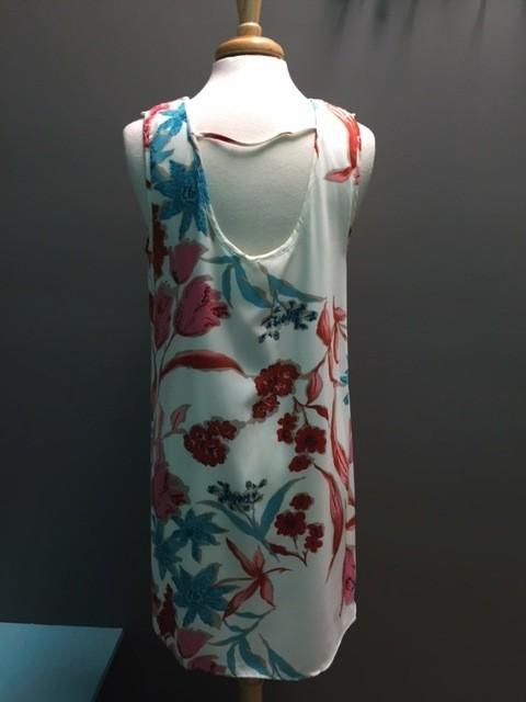 Dress Ivory Floral Crochet Dress