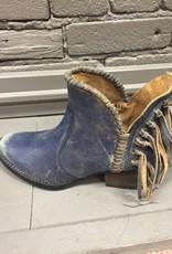 Boot Blue Jean Fringe Shortie