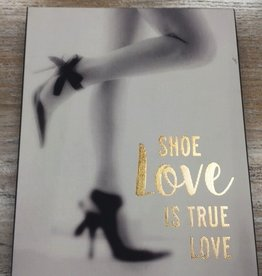 Decor Shoe Love Wall Art