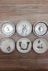 """Accessory Round Ceramic Dish 4"""""""