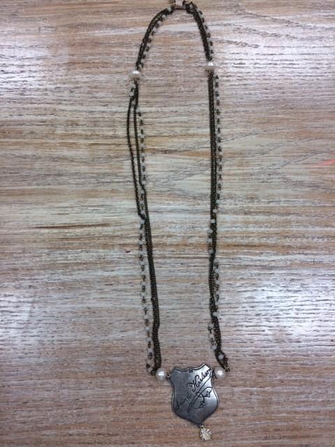 Jewelry Shield Necklace