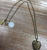 Jewelry Story Heart Necklace- Friendship