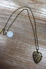 Jewelry Story Heart Necklace- Friendship