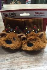 Kid's Baby Reindeer Slippers