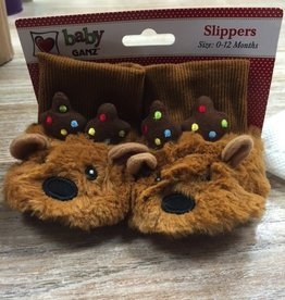 Kid's Baby Reindeer Slippers