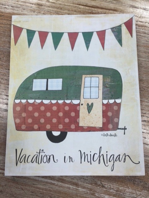 Decor Vacation in Michigan 8x10