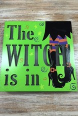 Decor The Witch Is In Light Up Sign