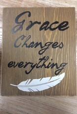 Art Grace Changes Everything Wall Art