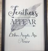 Art Feathers Appear Wall Art
