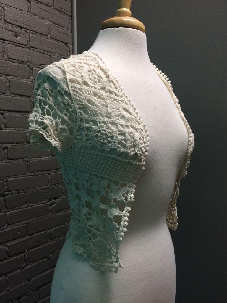 Vest Short Sleeve Crop Vest OS