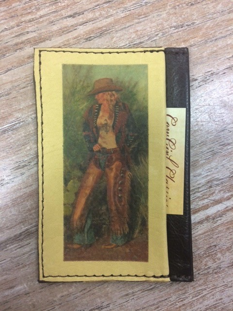 Accessory Credit Card Case- Girl Standing Up