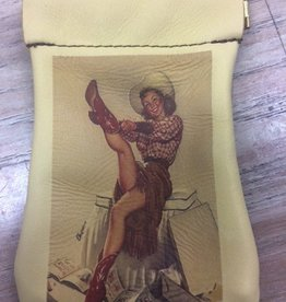 Accessory Coin Purse Squeeze Top- Girl w/ Boots