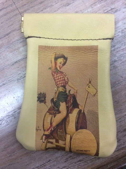 Accessory Coin Purse Squeeze Top- Sitting Pretty
