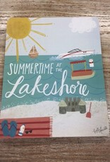 Decor Summertime Lakeshore Sign 8x10