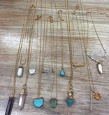 Jewelry Assorted Necklaces w/ Gems
