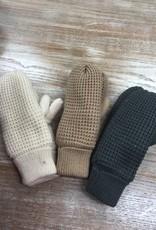 Gloves Knit Fleece Lined Mittens