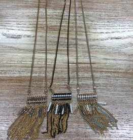 Jewelry Long Beaded Design Necklace