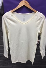 Long Sleeve Seamless Solid Long Sleeve