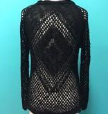 Sweater Black LS Knit Sweater