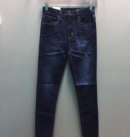Jean Dark Blue High Rise Skinny Jeans