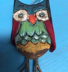 Decor Bright Owl Ornament