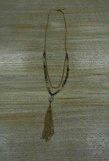 Jewelry Chain Tassel Necklace