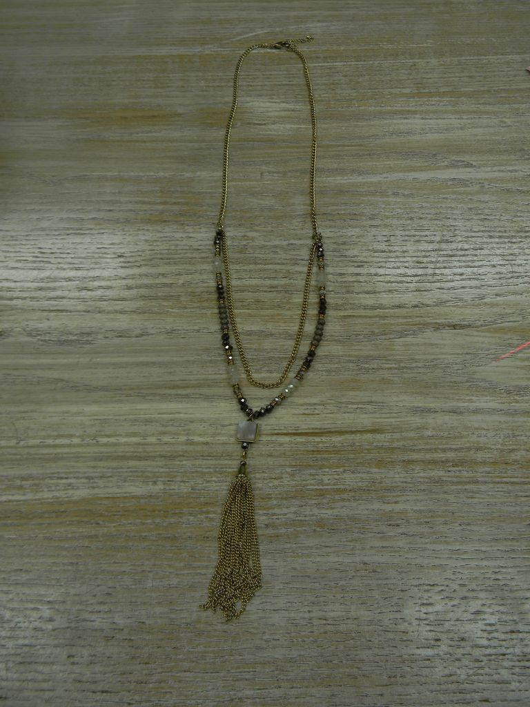 Jewelry Chain Tassel Necklace