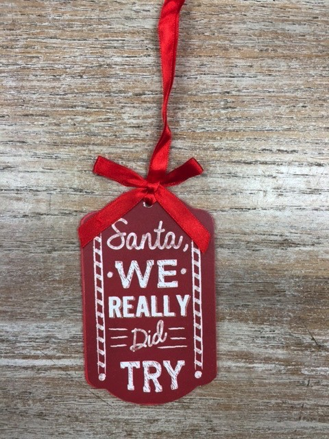 Decor Christmas Tags