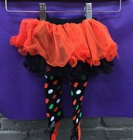 Kid's Halloween Polka Dot Baby Tutu Tights