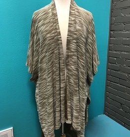 Cardigan Brown Half Sleeve HiLo Cardi