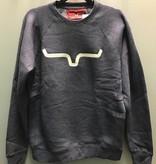 Top Denim Crew Sweatshirt