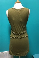 Tunic Olive Knit Top