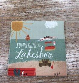 Decor Summertime at the Lakeshore Coaster