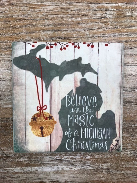 Decor Magic Michigan Coaster