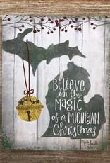 Decor Magic Michigan Sign 8x10
