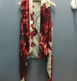 Scarf Chrysanthemum Scarf Vest