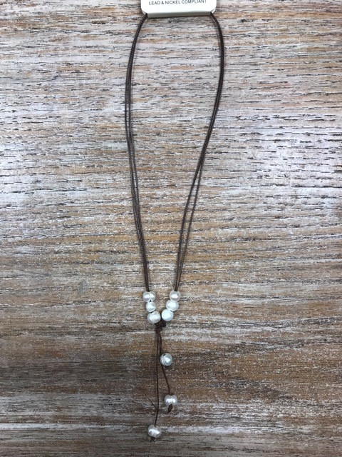 Jewelry Multi Strands/Pearls Necklace