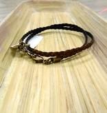 Jewelry Coffee Bean Braided Wrap
