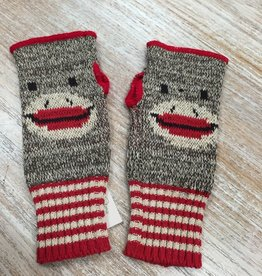 Gloves Sock Monkey Handwarmers
