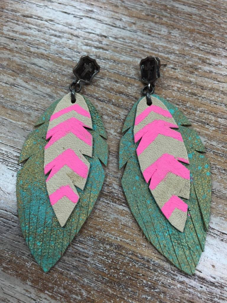 Jewelry Feather Earrings