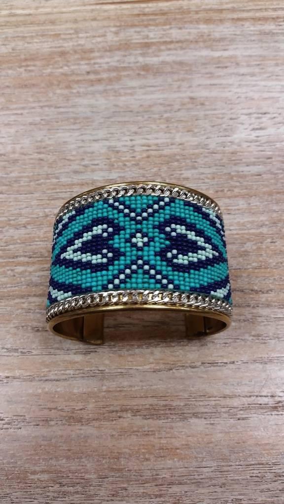 Jewelry Southwestern Beaded Cuff