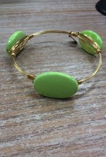 Jewelry Stackable Small Stone Bangle