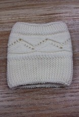 Socks Cable Boot Cuffs