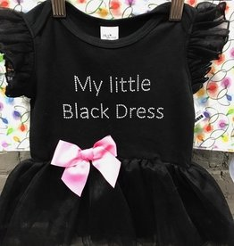 Kid's My Little Black Dress Baby- Tutu