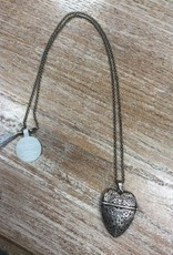 Jewelry Story Heart Necklace- Best Mom